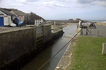 English: Taken myself shows bude haven from th...