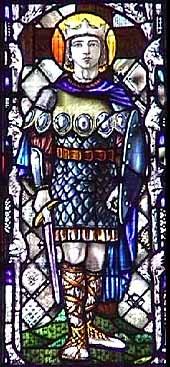 Saint Oswald. Roi de Northumbrie († 642)