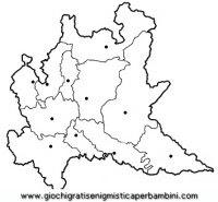 Cartina Muta Lombardia Province.Regioni Italia Da Colorare Coloring Book Collection