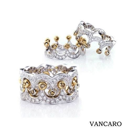 b68f42436 1000+ images about Vancaro Rings on Pinterest Wedding Rings Solitaire,  Couple Rings and Bridal