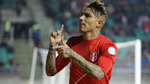 Guerrero brilhou e comandou a classificação do Peru para a semifinal