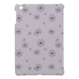 Lavender Daisy Flowers Floral iPad Mini Case