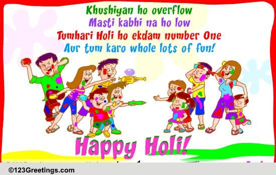 Holi Wishes For Friends Free Happy Holi Ecards Greeting Cards