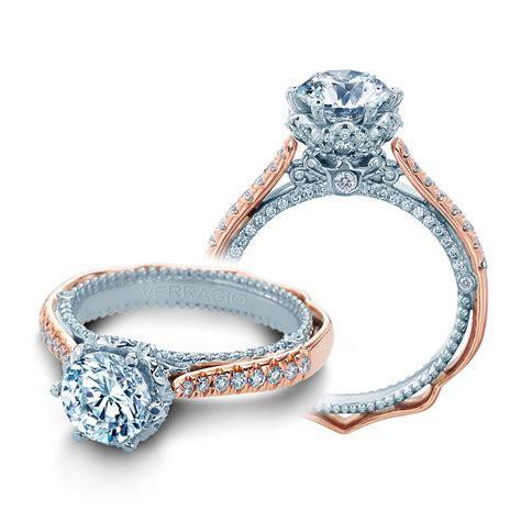 Verragio Venetian 5070D 2RW 18 Karat Engagement Ring   TQ