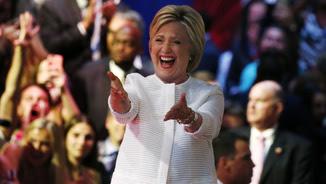 La candidata demòcrata a la presidència dels Estats Units, Hillary Clinton