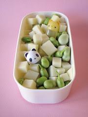 Lato salato: insalata di baccelli e pecorino