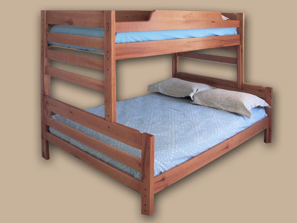 Hardwood Bunk Beds  Twins