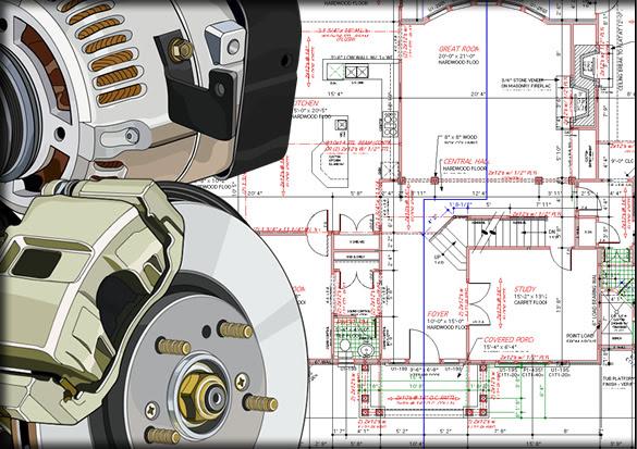 Mac 2D & 3D CAD design software, interiors & home design software
