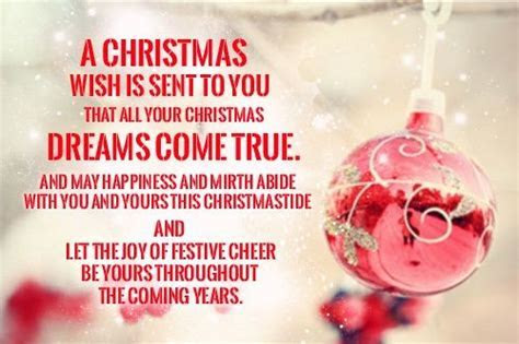 A Christmas Wish Is Sent To You That All Your Christmas