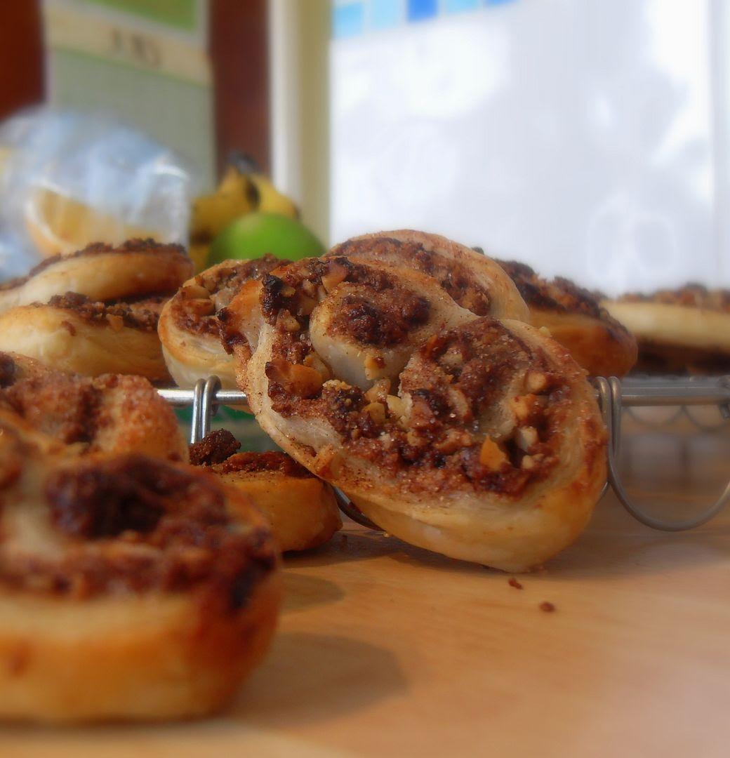 Hazelnut Kitchen: The English Kitchen: Chocolate Hazelnut Palmiers