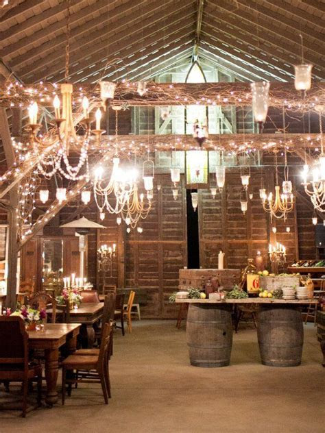 Gorgeous rustic wedding decor   Reception Ideas