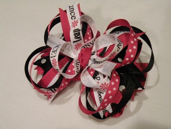Just Dance XL Boutique Style Bow