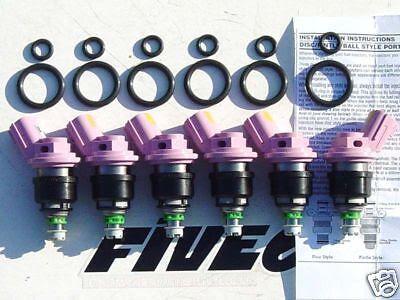 Nissan 1995-98 200SX, SE 1.6L JECS Fuel Injectors -NEW enlarge