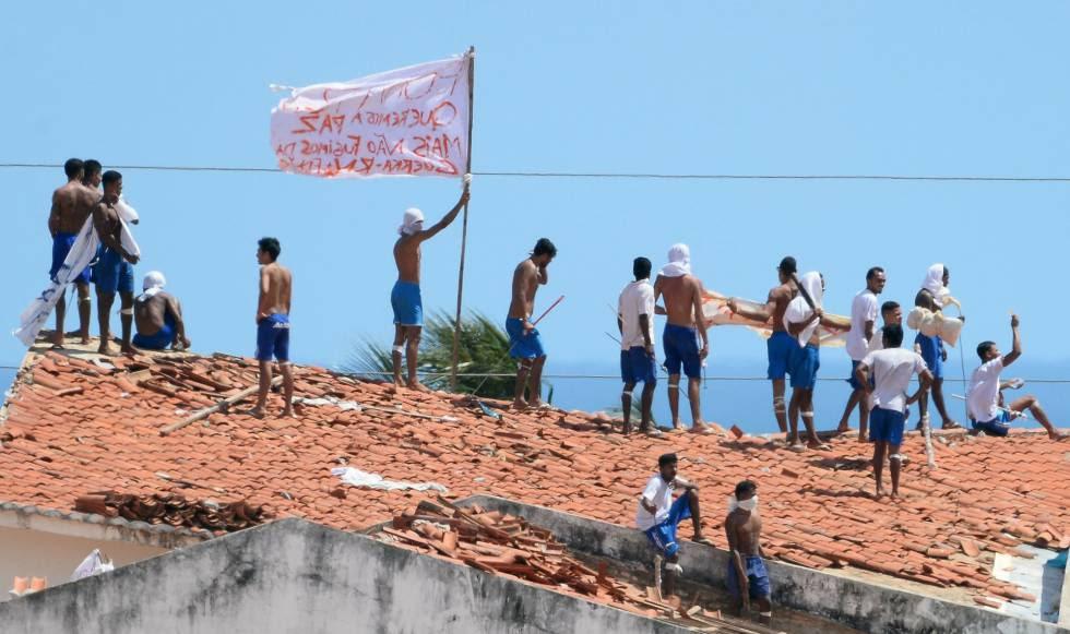 Resultado de imagem para briga entre facções no Rio grande do norte
