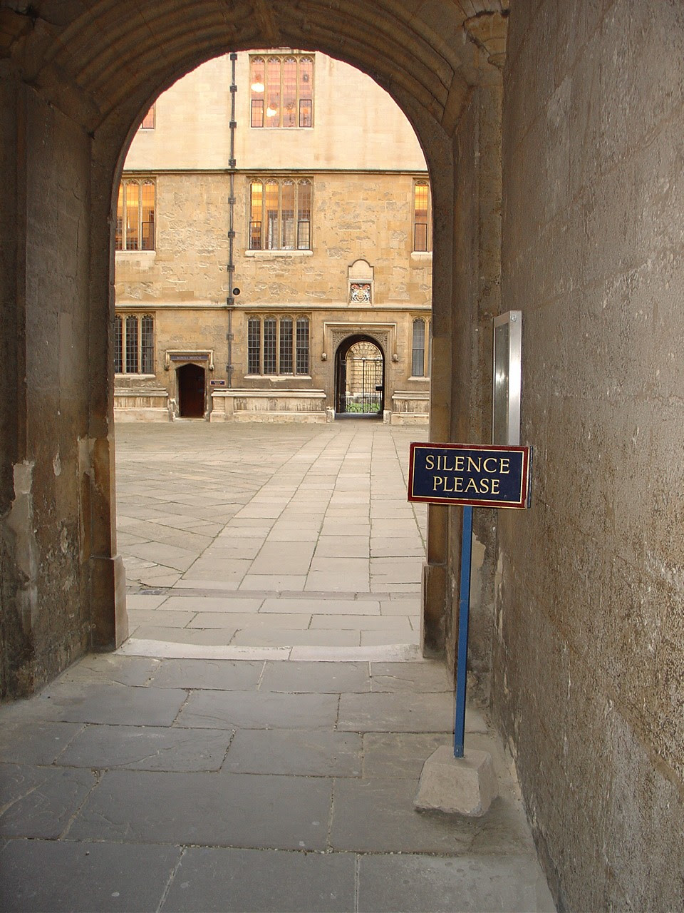 Bodleian Library Quadrangle