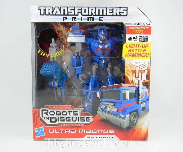 Transformers Ultra Magnus Voyager - Transformers Prime RID - caja