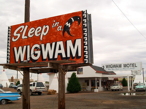 Sleep in a Wigwam