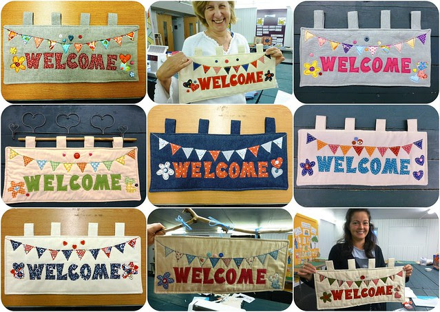 Welcome Wallhanging Class June13