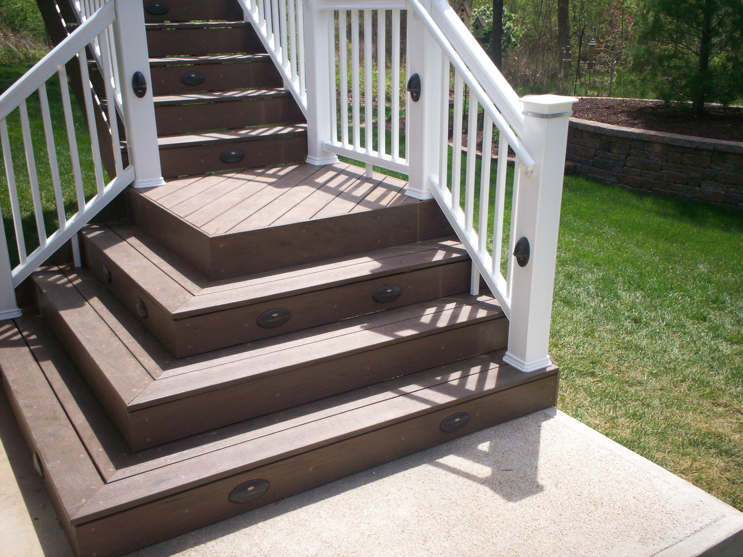 Deck Stairs | St. Louis Decks, Screened Porches, Pergolas, Gazebos ...