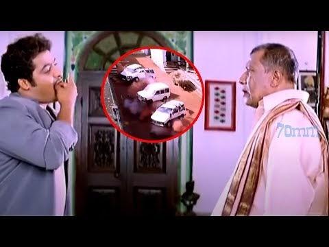 jr Ntr Blockbuster Action Scene | Telugu Scenes | 70MM Movies