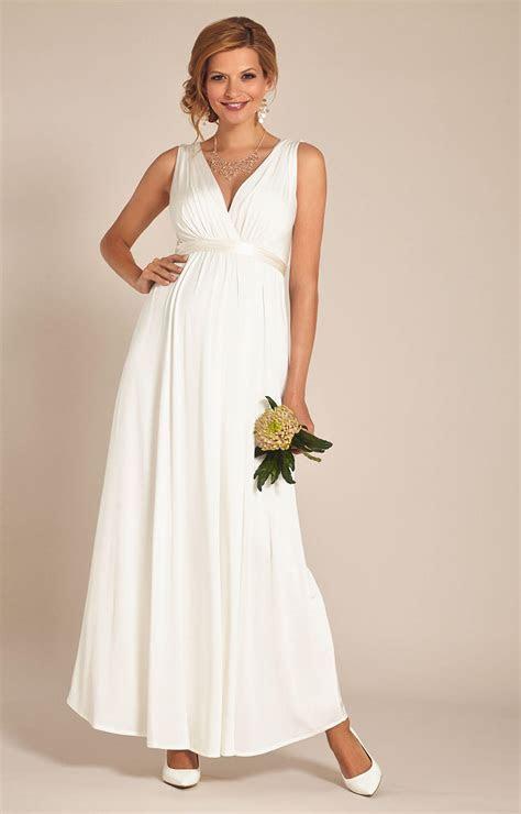 Anastasia Maternity Wedding Gown (Ivory)   Maternity