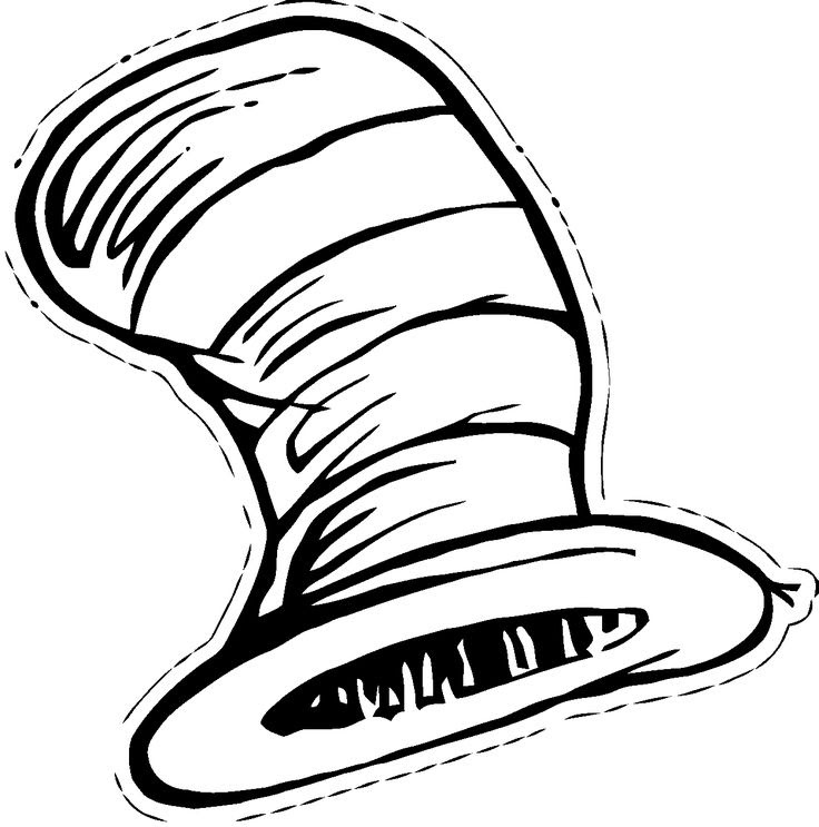 Cat in the Hat Coloring Pages – coloring.rocks! | 743x736