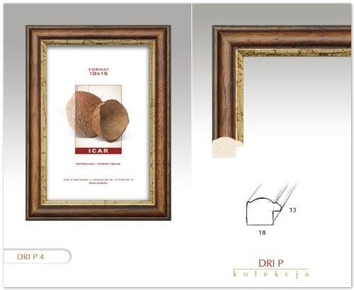 cadres cadre dri p rustique marron fonc 30x40 cm cadre en bois cadre photo. Black Bedroom Furniture Sets. Home Design Ideas