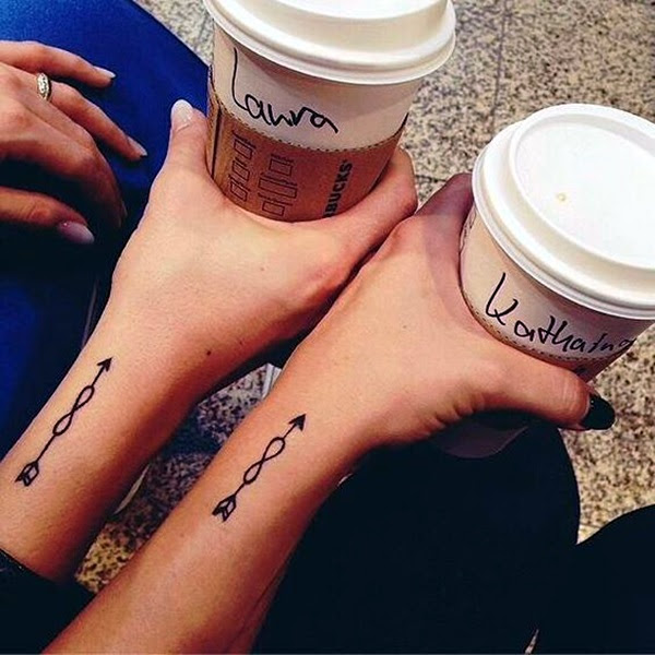 Adorable Sisters Forever Tattoo Design Ideas (14)