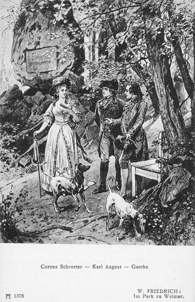 Файл: Шретер Карл-Август и Goethe.jpg