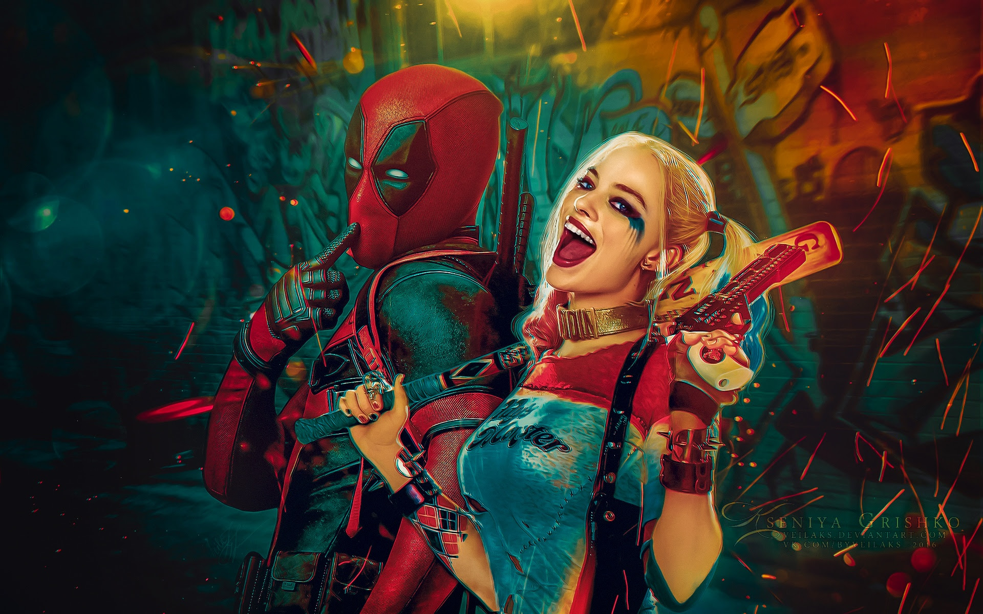 Suicide Squad Wallpaper 14