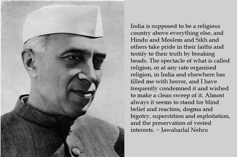 Jawaharlal Nehru Quotes and Speeches