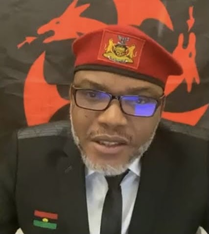 We Will Stop All Military Attacks In Biafra Land, Nnamdi Kanu Vows