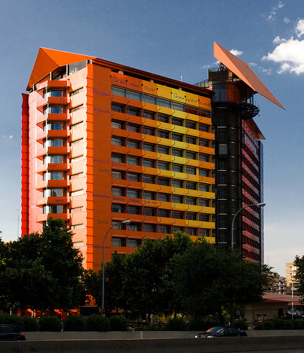 Hotel Silken Puerta America, Madrid, Spain