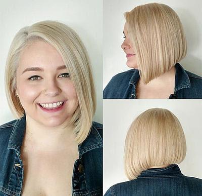 Info Top 32 Model Rambut Sebahu Untuk Wanita Gemuk