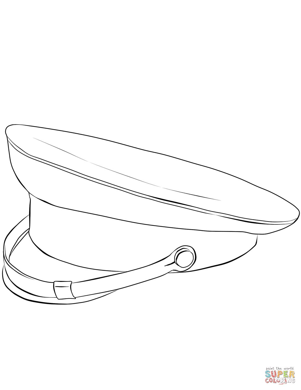 Disegno Di Cappello Militare Da Colorare Disegni Da Colorare E