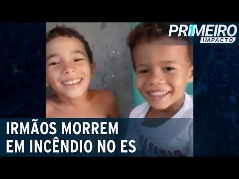 Crianças morrem carbonizadas após incêndio em residência