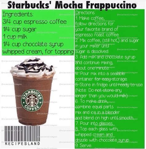 starbucks recipes  ashley musely