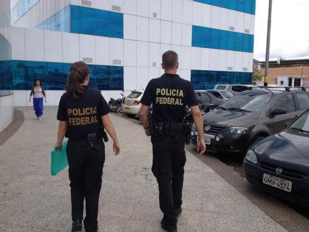 Operação Plateias: PF cumpre mandados de busca em secretarias de RO (Foto: Ísis Capistrano/G1)
