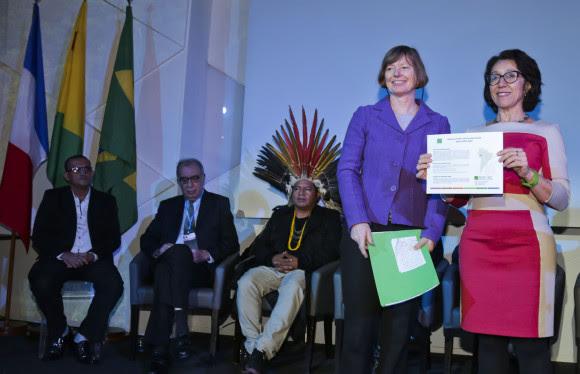 Reconhecimento das iniciativas acreanas foi feito durante a COP 21, em Paris. Foto: Gleilson Miranda/Secom