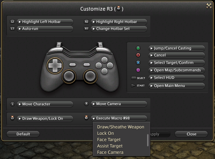 "Swap ""Face Target"" for ""Focus Target"" in Controller Settings"