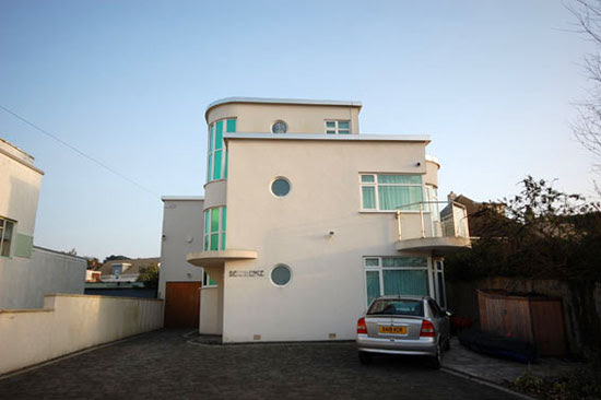 Four bedroom art deco property in Lilliput, Poole, Dorset