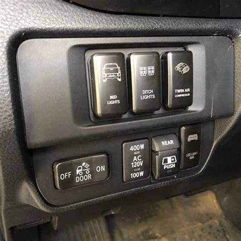 toyota tacoma oem style switch panel tacoma