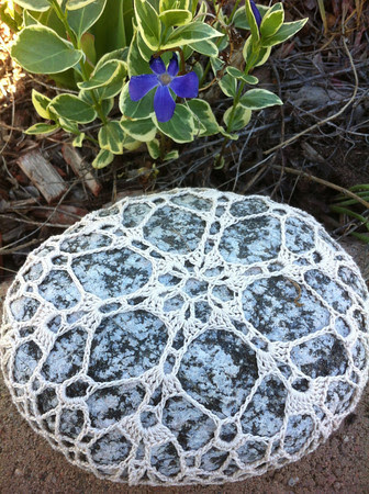Blue River Snowflake Rock