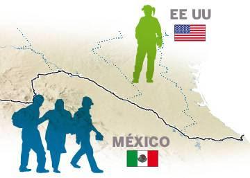 Infografía | Inmigrantes sin papeles detenidos en la frontera de EE UU y México