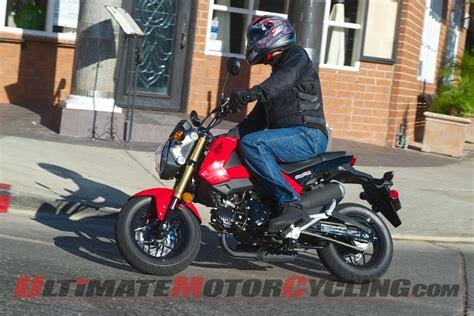 honda grom  fun motorcycle test
