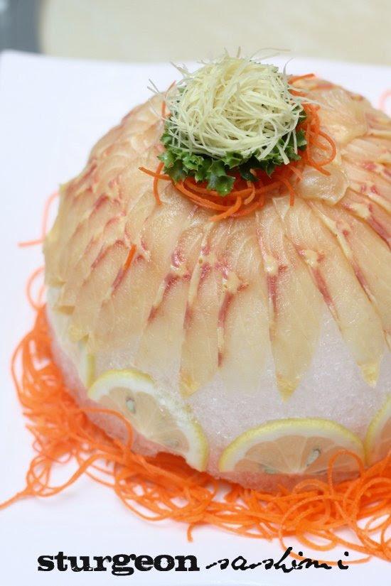 sturgeon fish sashimi2