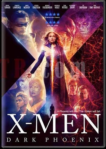 X-Men Dark Phoenix 2019 Dual Audio ORG Hindi 720p 480p BluRay 1GB And 350MB