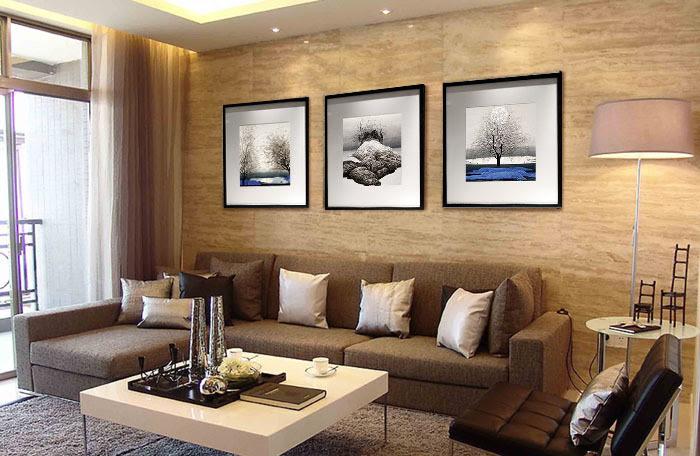 C mo decorar la casa pinturas para salones - Pinturas para salones ...
