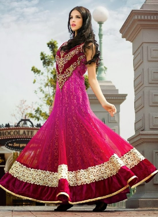 Beautiful-Indian-Brides-Bridal-Gowns-For-Girls-New-Fashion-Dress-2013-6