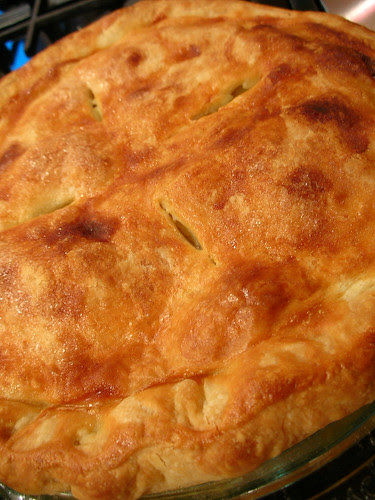 The best apple pie crust ever. Made with vodka!